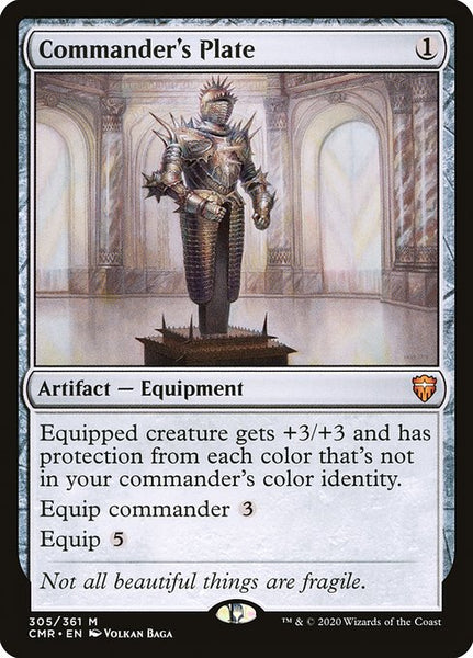 Commander's Plate [CMR]