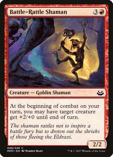 Battle-Rattle Shaman [MM3][Foil]