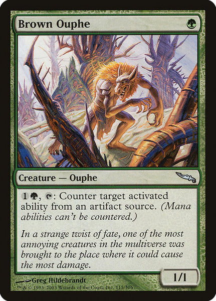 Brown Ouphe [MRD][Foil]