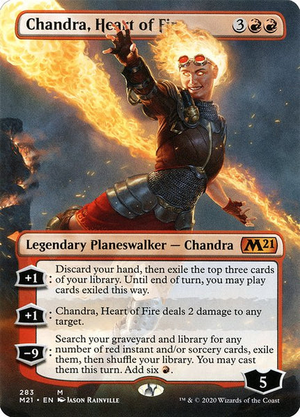 Chandra, Heart of Fire [M21][Borderless]