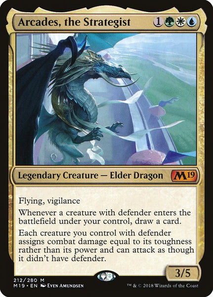 Arcades, the Strategist [M19][Foil]