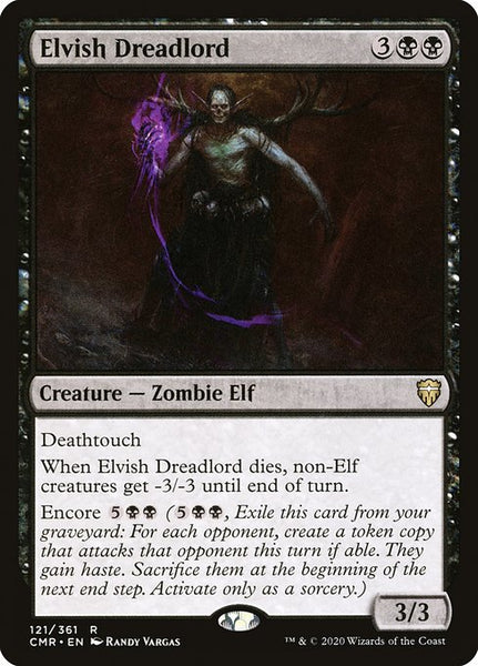 Elvish Dreadlord [CMR]
