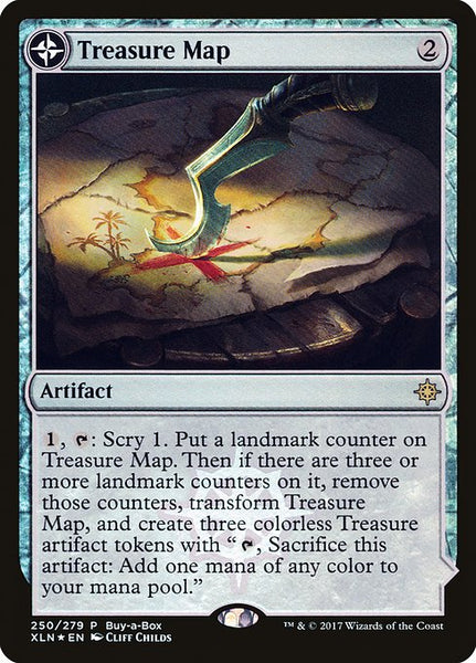 Treasure Map // Treasure Cove [PXTC][Foil]