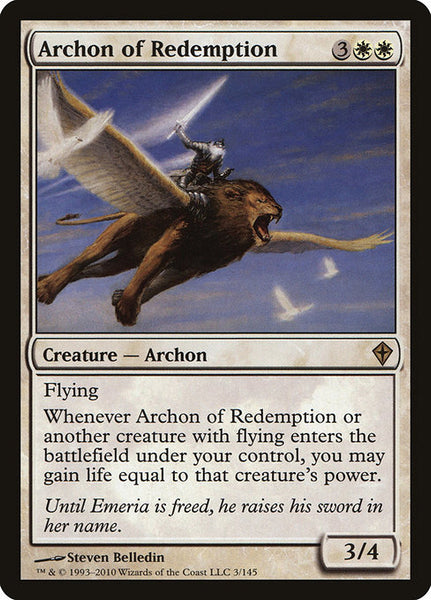 Archon of Redemption [WWK][Foil]