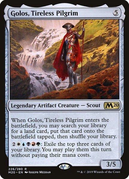Golos, Tireless Pilgrim [M20]