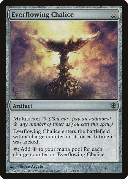 Everflowing Chalice [WWK][Foil]