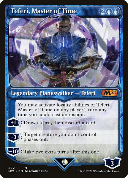 Teferi, Master of Time [M21][292] [Showcase]