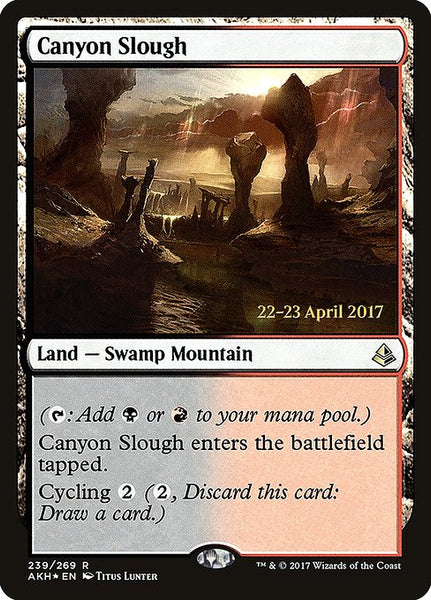 Canyon Slough [PAKH][Foil]