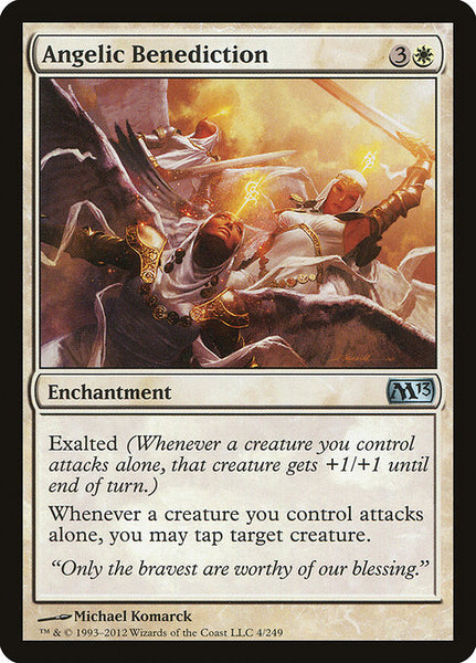 Angelic Benediction [M13][Foil]