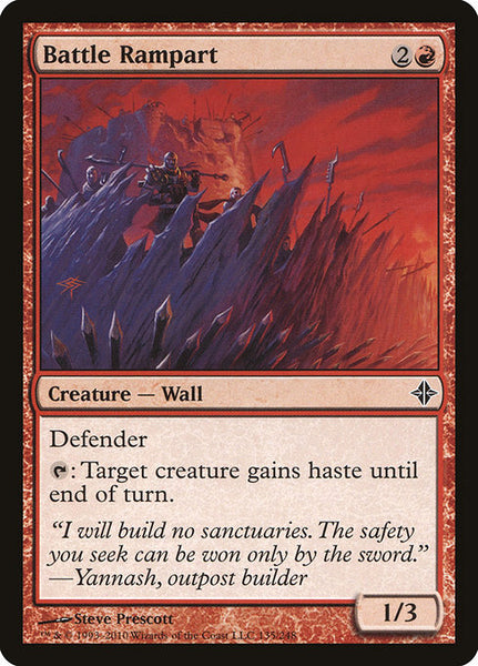 Battle Rampart [ROE][Foil]