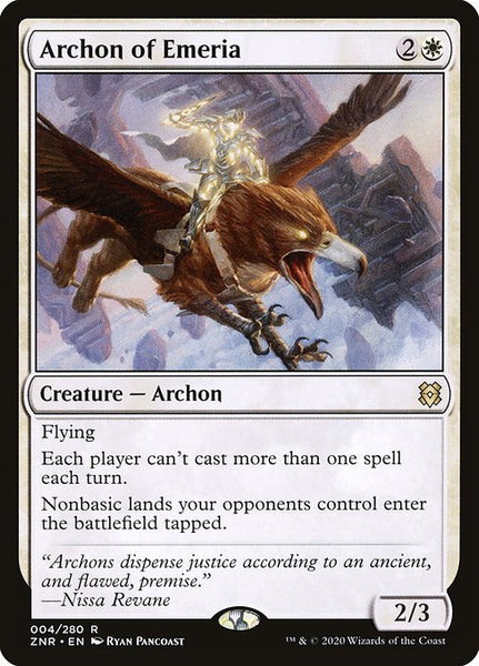 Archon of Emeria [ZNR][Foil]