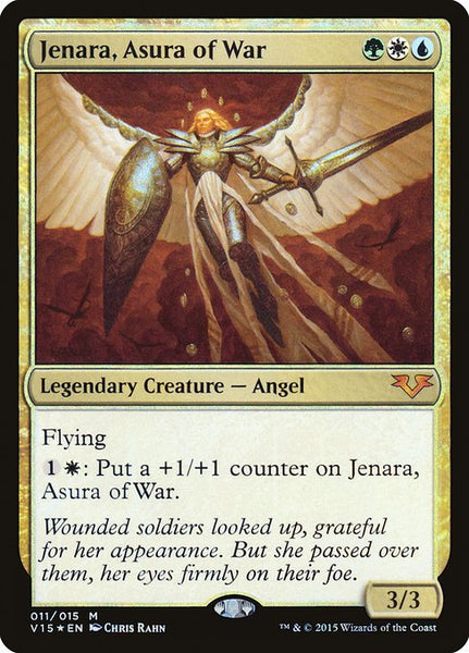 Jenara, Asura of War [V15][Foil]