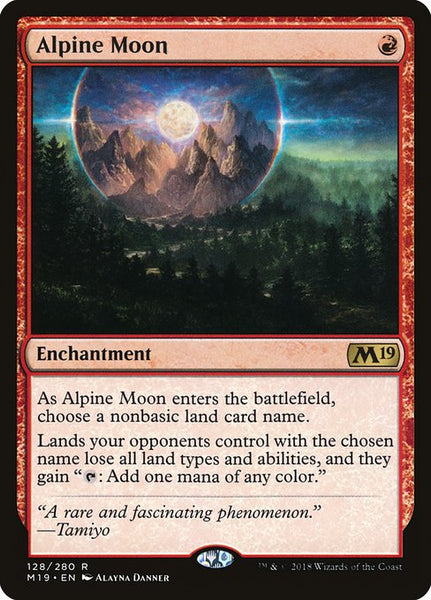 Alpine Moon [M19][Foil]