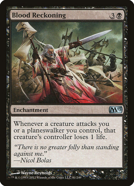 Blood Reckoning [M13][Foil]