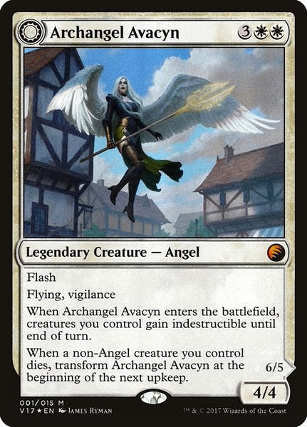 Archangel Avacyn // Avacyn, the Purifier [V17][Foil]