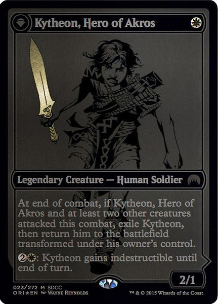 Kytheon, Hero of Akros // Gideon, Battle-Forged [PS15][Foil]