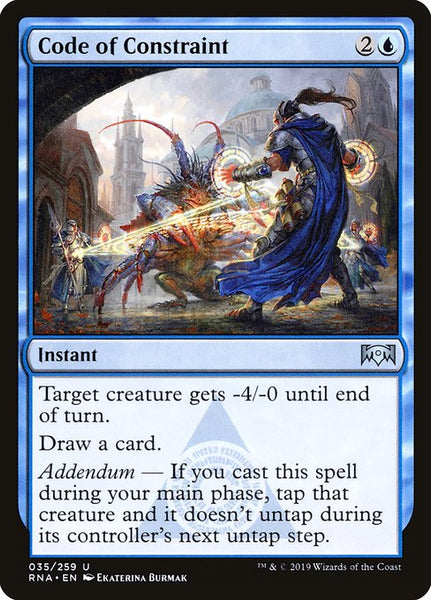 Code of Constraint [RNA][Foil]