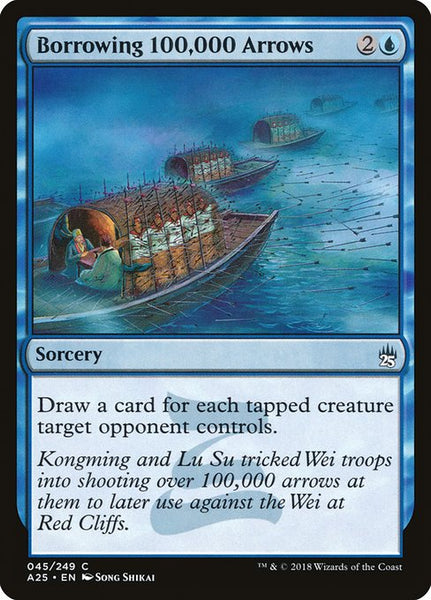 Borrowing 100,000 Arrows [A25][Foil]