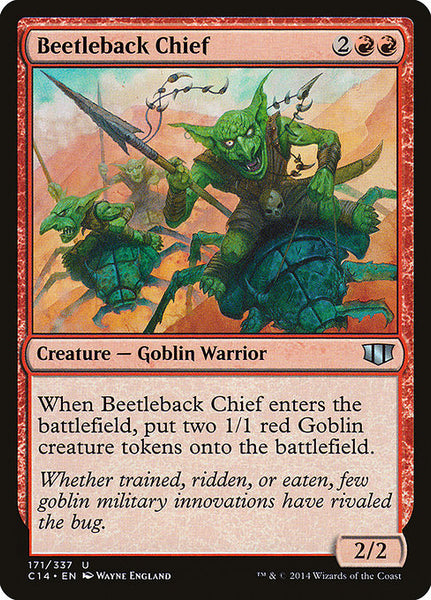 Beetleback Chief [C14]