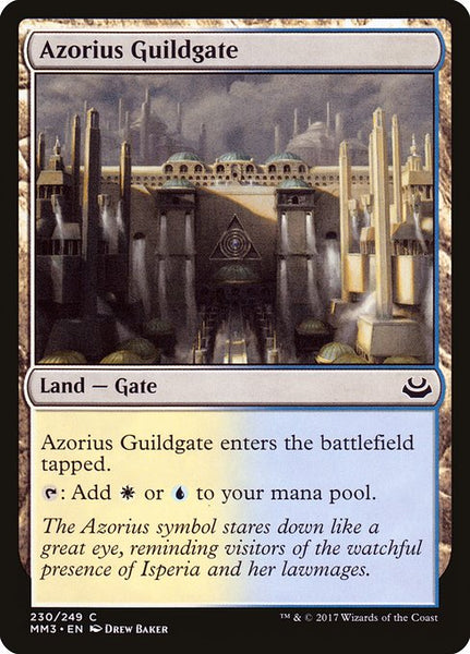 Azorius Guildgate [MM3][230][Foil]