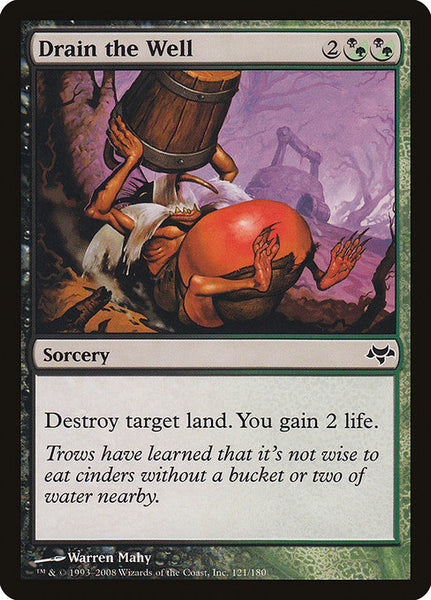 Drain the Well [EVE][Foil]