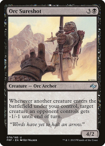 Orc Sureshot [FRF]