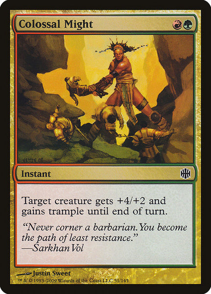 Colossal Might [ARB][Foil]