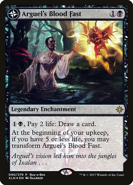 Arguel's Blood Fast // Temple of Aclazotz [PXTC][Foil]