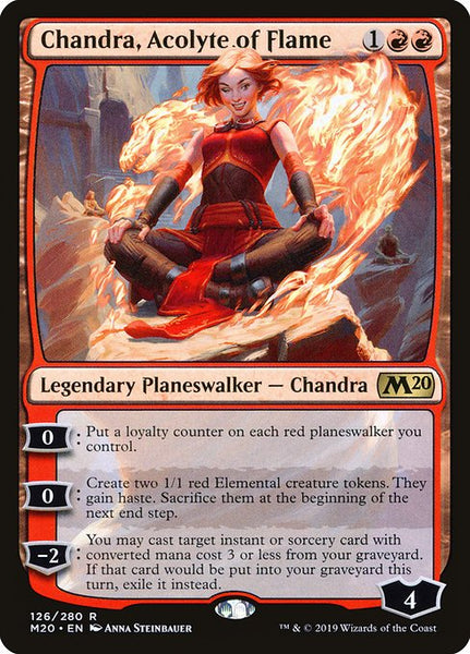 Chandra, Acolyte of Flame [M20][Foil]
