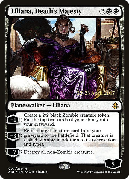 Liliana, Death's Majesty [PAKH][Foil]
