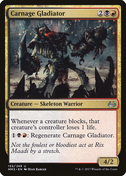 Carnage Gladiator [MM3][Foil]