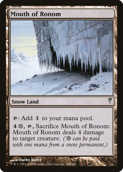 Mouth of Ronom [CSP]