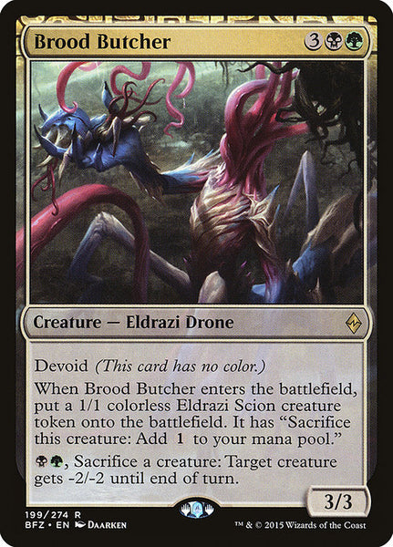 Brood Butcher [BFZ][Foil]