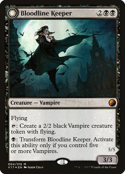 Bloodline Keeper // Lord of Lineage [V17][Foil]