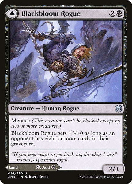 Blackbloom Rogue // Blackbloom Bog [ZNR]