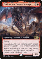 Gadrak, the Crown-Scourge [M21][Foil][Extended Art]