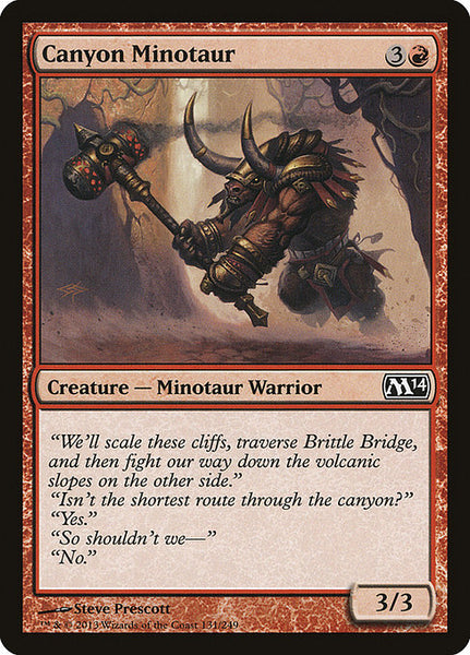 Canyon Minotaur [M14]