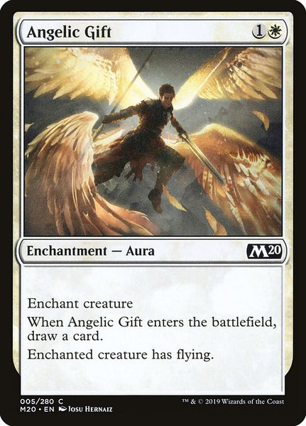 Angelic Gift [M20][Foil]