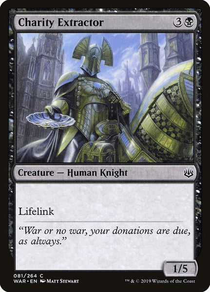 Charity Extractor [WAR][Foil]