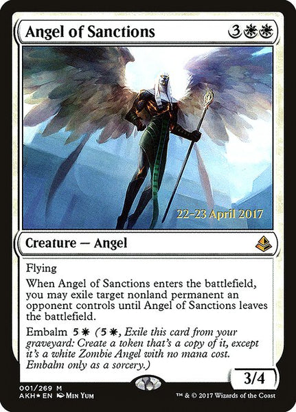 Angel of Sanctions [PAKH][Foil]