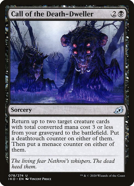 Call of the Death-Dweller [IKO][Foil]