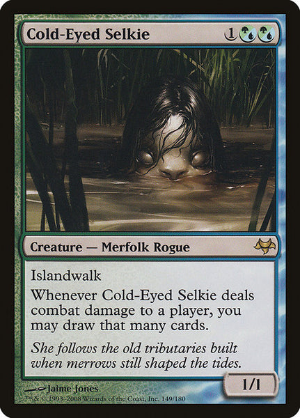 Cold-Eyed Selkie [EVE][Foil]