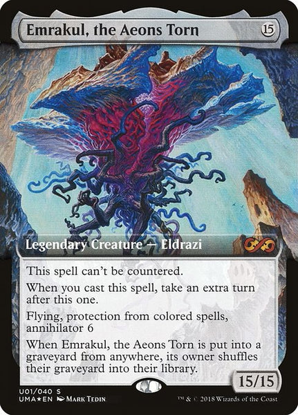 Emrakul, the Aeons Torn [PUMA][Foil][Extended Art]