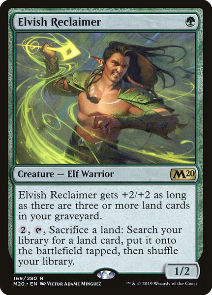 Elvish Reclaimer [M20]