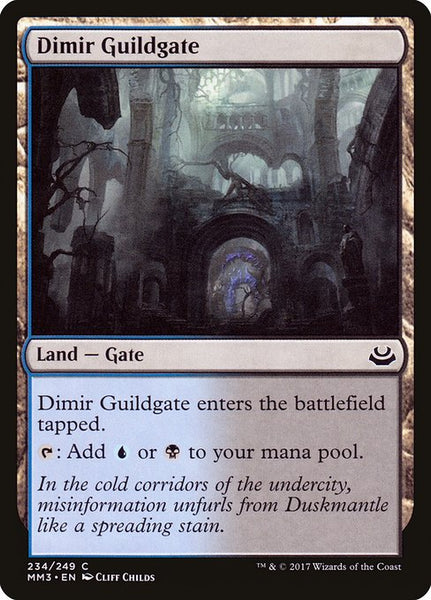 Dimir Guildgate [MM3][234]