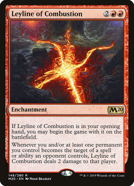 Leyline of Combustion [M20]
