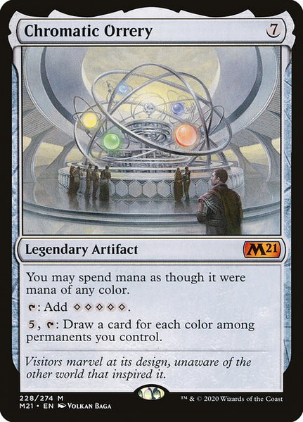 Chromatic Orrery [M21]