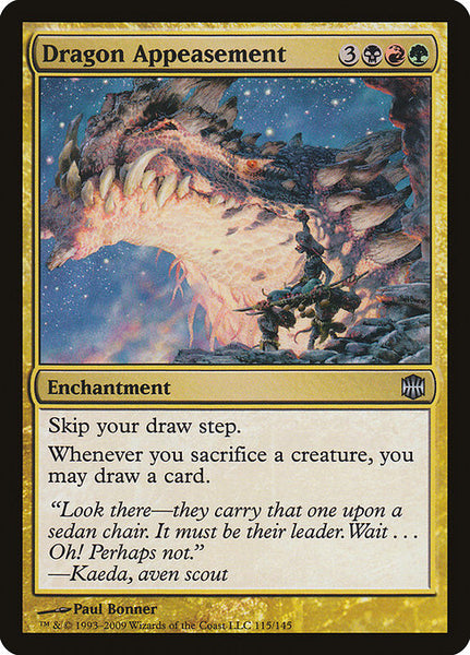 Dragon Appeasement [ARB][Foil]