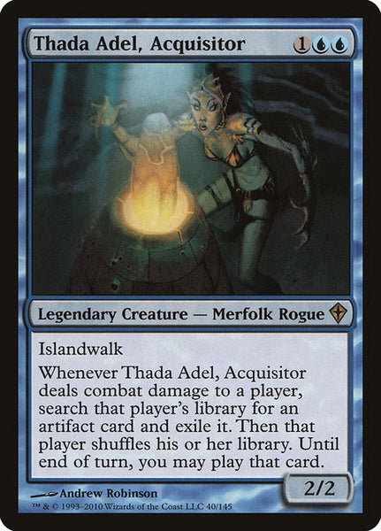 Thada Adel, Acquisitor [WWK]