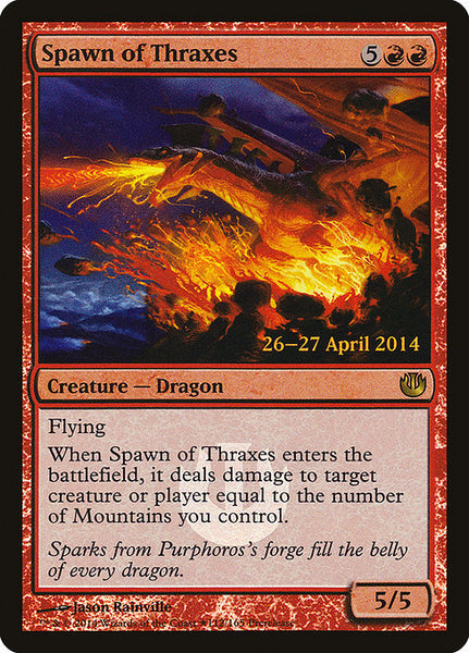 Spawn of Thraxes [PJOU][Foil]